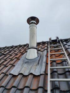 Houtkachel installatie - Drenthe - Overijssel -Groningen - Dakdoorvoer